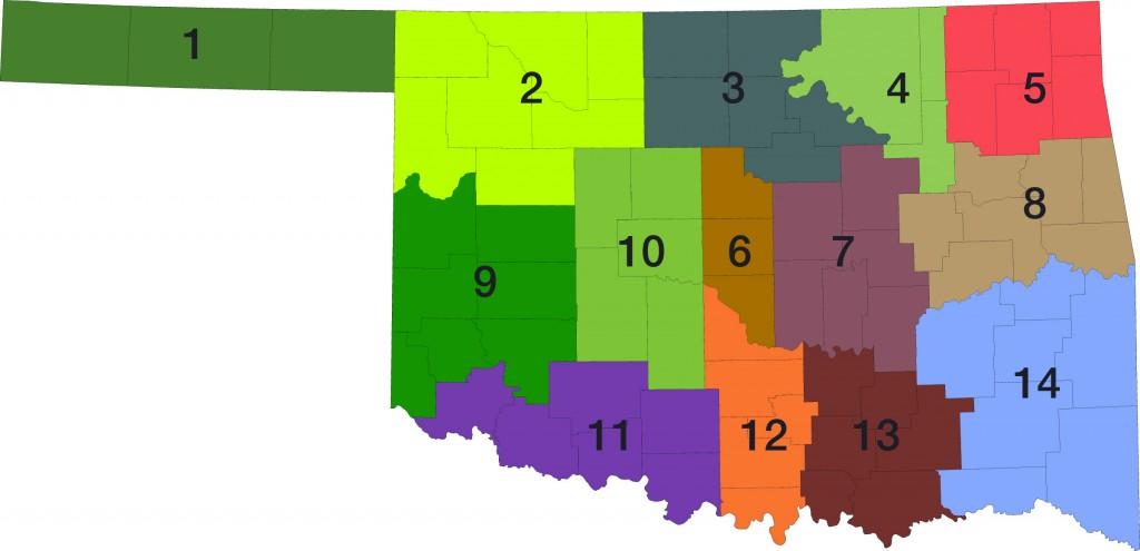 OSSBA Regions Map
