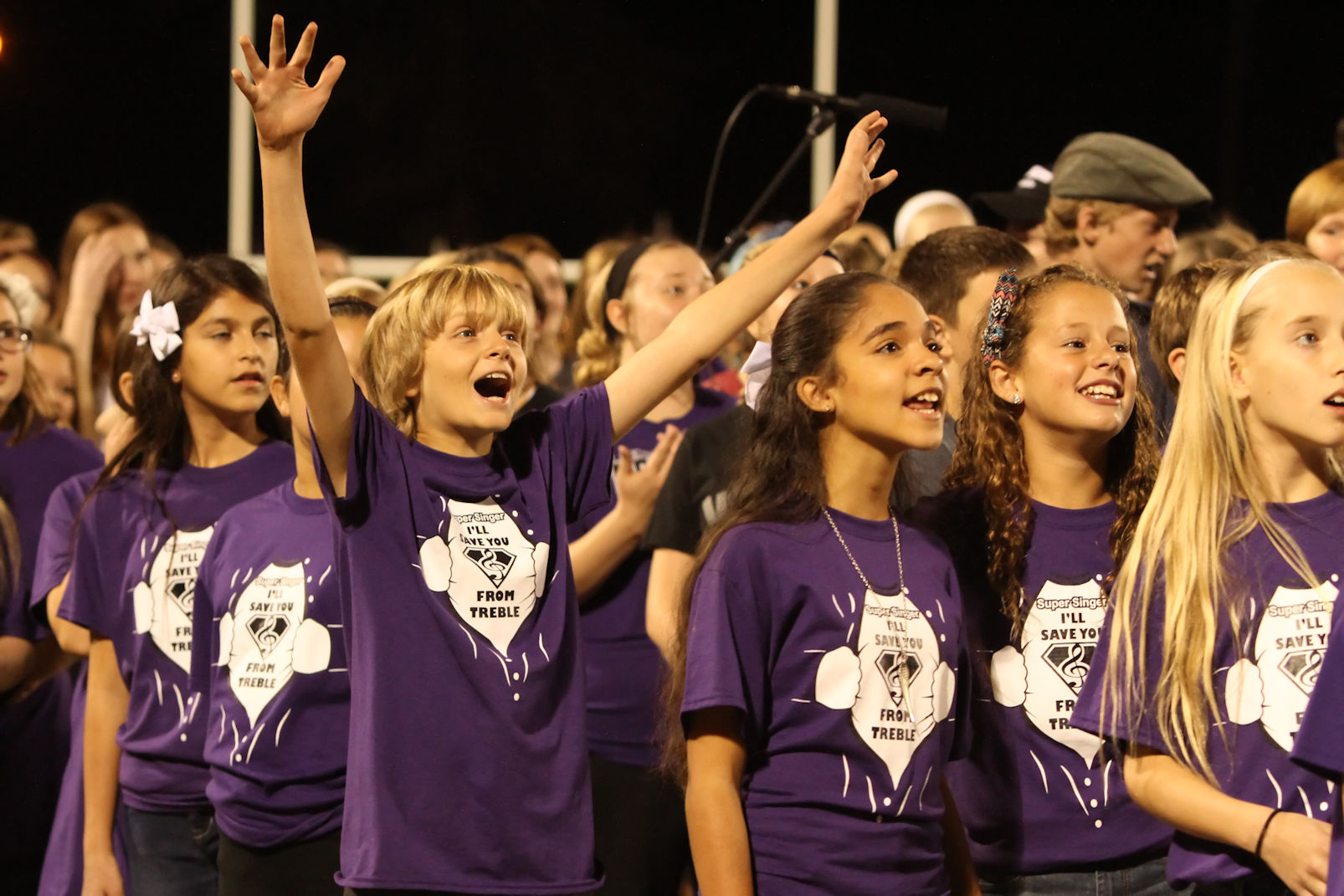 Choir students picture small